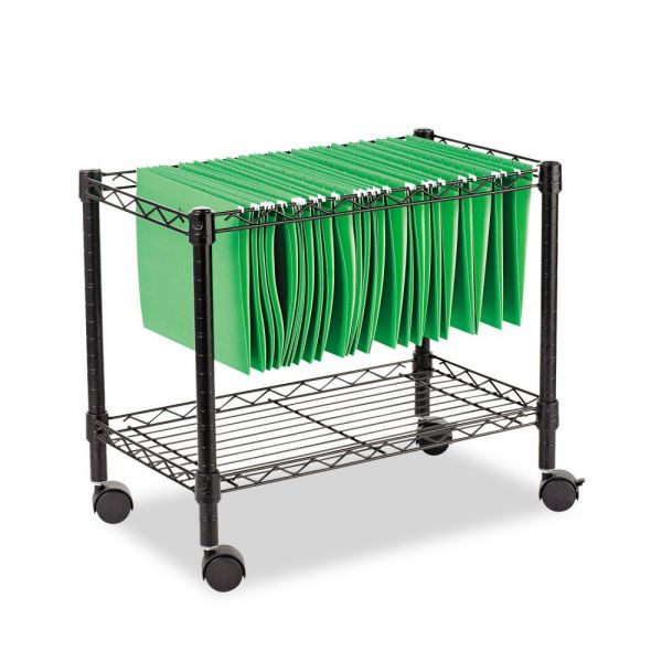 Alera Single-Tier Rolling File Cart