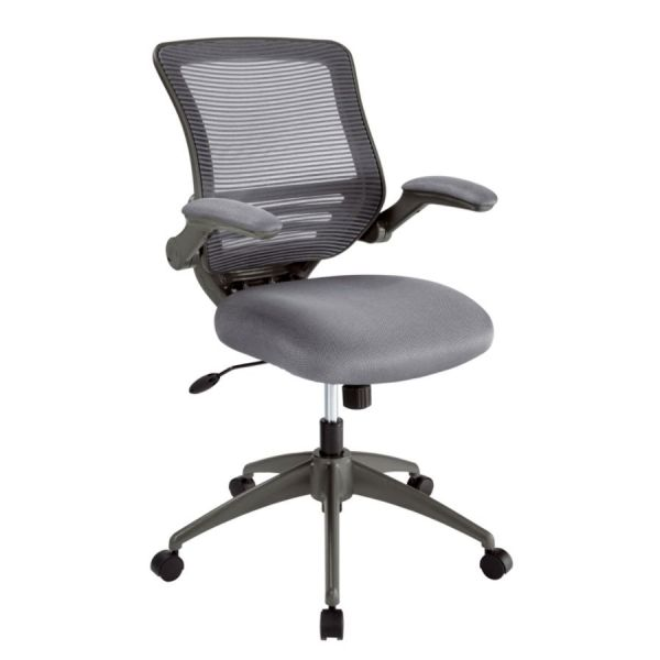 Fine Realspace Calusa Mesh Fabric Mid Back Managerial Chair Silver Alphanode Cool Chair Designs And Ideas Alphanodeonline