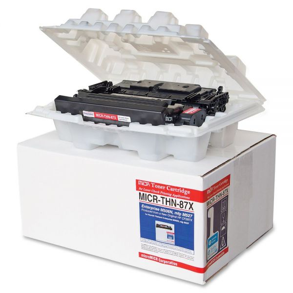 Micromicr Remanufactured HP 87X MICR Toner Cartridge