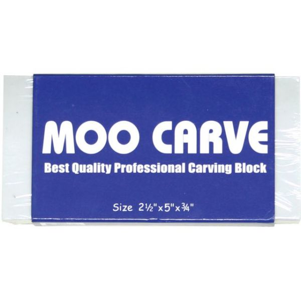 Moo Carving Block