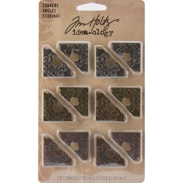 "Idea-Ology Ornate Corners 1"" 12/Pkg"