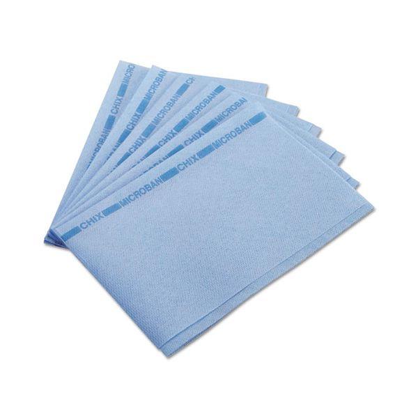 Chix Food Service Towels, 13 x 21, Blue, 150/Carton