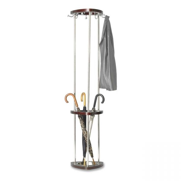 Safco Coat Rack with Umbrella Holder
