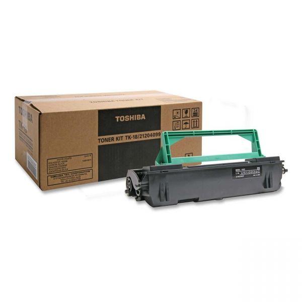 Toshiba TK18 Black Toner Cartridge
