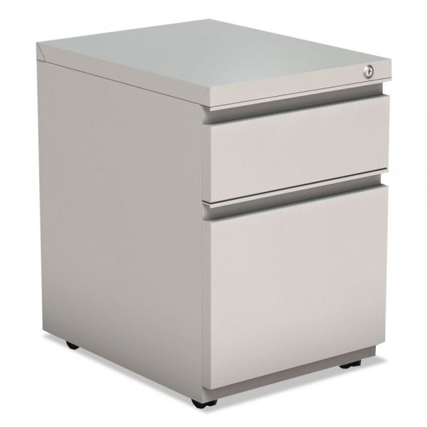 Alera Two-Drawer Metal Pedestal File With Full Length Pull