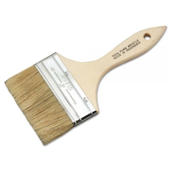 Magnolia Brush Low Cost Paint or Chip Brush, 4""