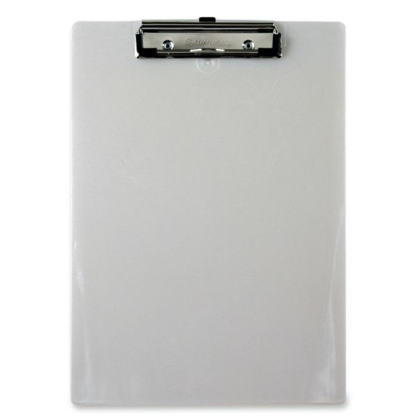 Saunders Recycled Plastic Clipboards w/Spring Clip