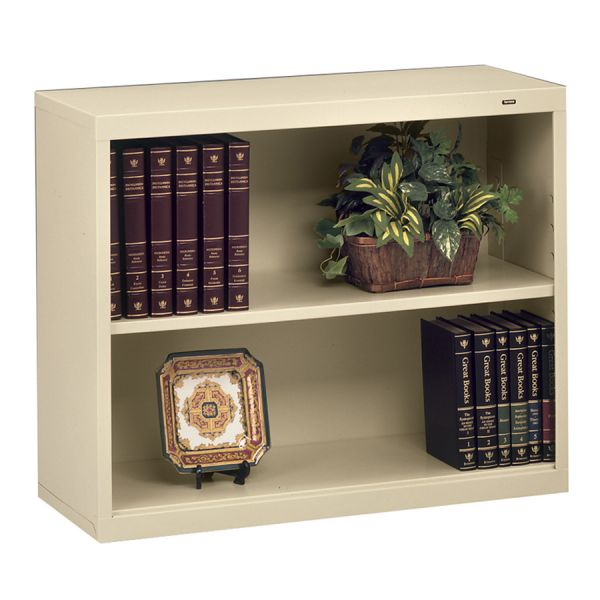 Tennsco Deep 2-Shelf Welded Steel Bookcase