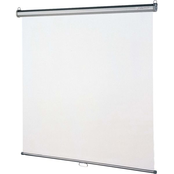 """Quartet Manual Projection Screen - 118.8"""" - 1:1 - Wall Mount, Ceiling Mount"""