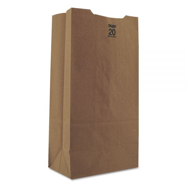 General 20# Heavy-Duty Brown Paper Grocery Bags