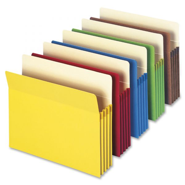 Smead Colored Expanding File Pockets