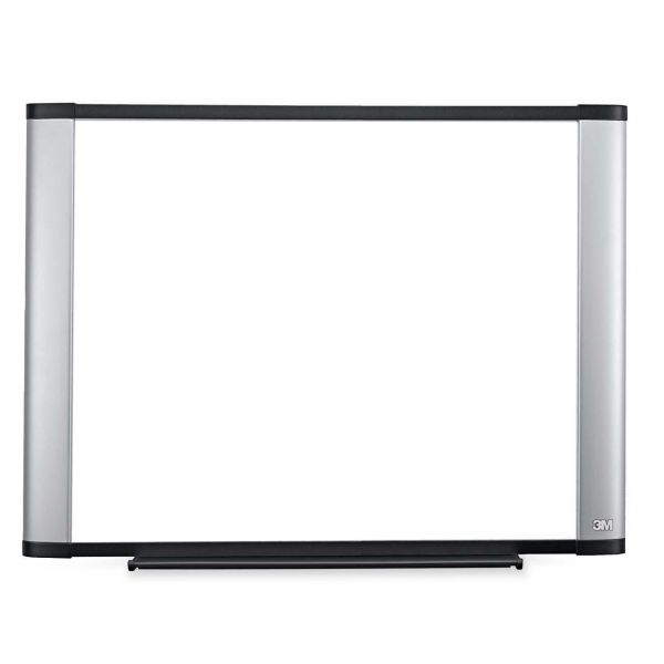 """3M 48"""" x 36"""" Widescreen Magnetic Porcelain Dry Erase Whiteboard"""