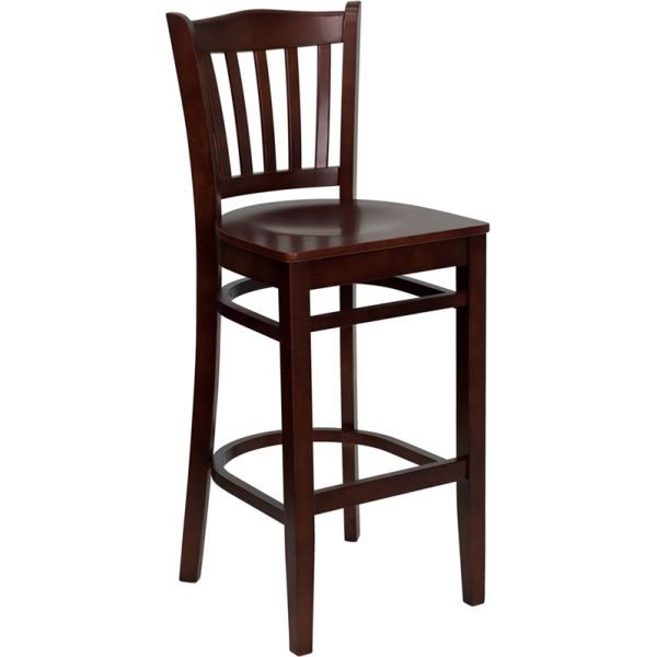 Flash Furniture HERCULES Series Vertical Slat Back Barstool