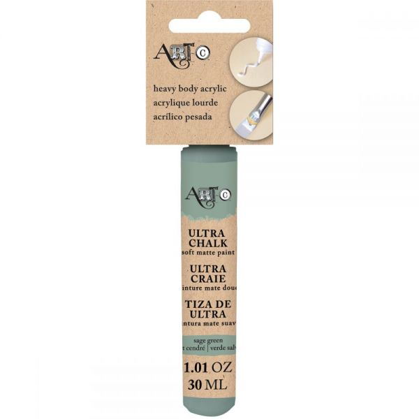 Art-C Heavy Body Ultra Chalk Sage Green Acrylic Paint