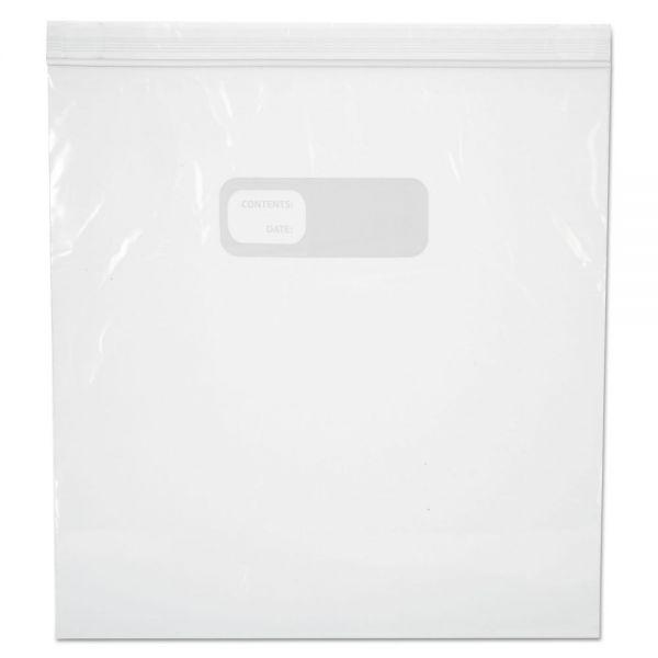 Boardwalk Reclosable Freezer Storage Bags, 1 Gal, Clear, LDPE, 2.7 mil, 10.56 x 11, 250/BX