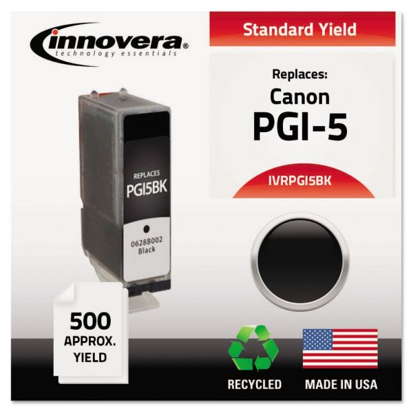 Innovera Remanufactured Canon PGI-5 Ink Cartridge
