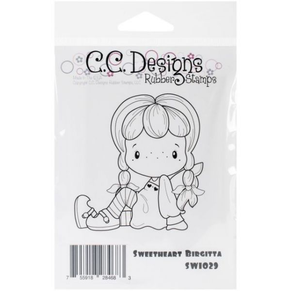"Swiss Pixie Cling Stamp 2.5""X2.75"""