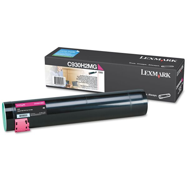 Lexmark C930H2MG Magenta High Yield Toner Cartridge