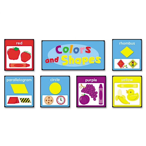 Carson-Dellosa Publishing Quick Stick™ Bulletin Board Set, Colors and Shapes