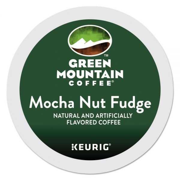 Green Mountain Coffee Mocha Nut Fudge Coffee K-Cups