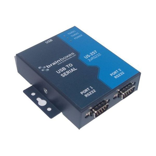 Brainboxes US-257 2-port Serial Hub