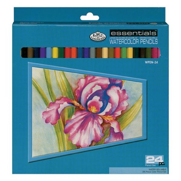 Watercolor Pencils 24/Pkg