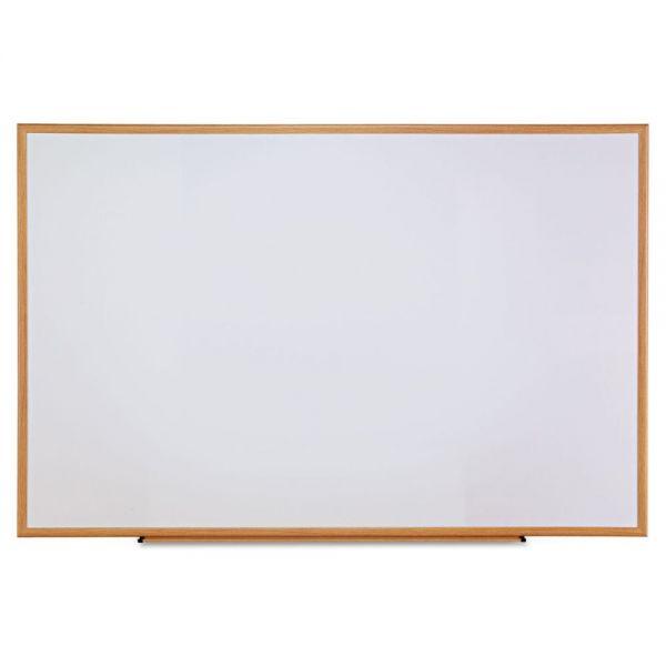 "Universal 72"" x 48"" Melamine Dry Erase Whiteboard"