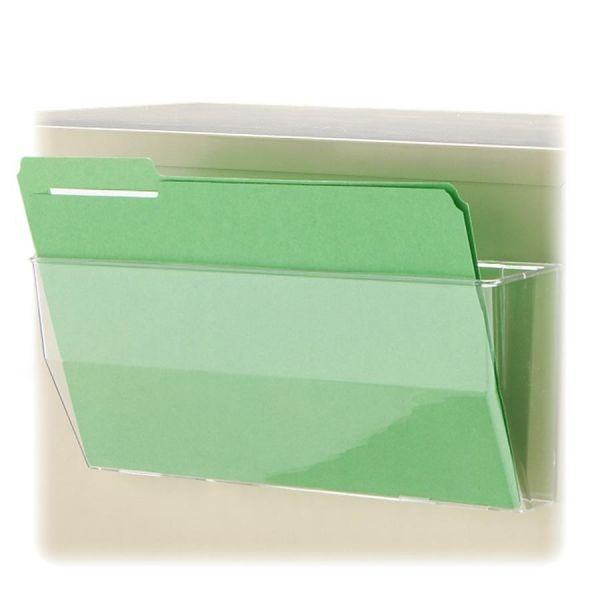 Deflect-o Oversized Magnetic Wall File Pocket