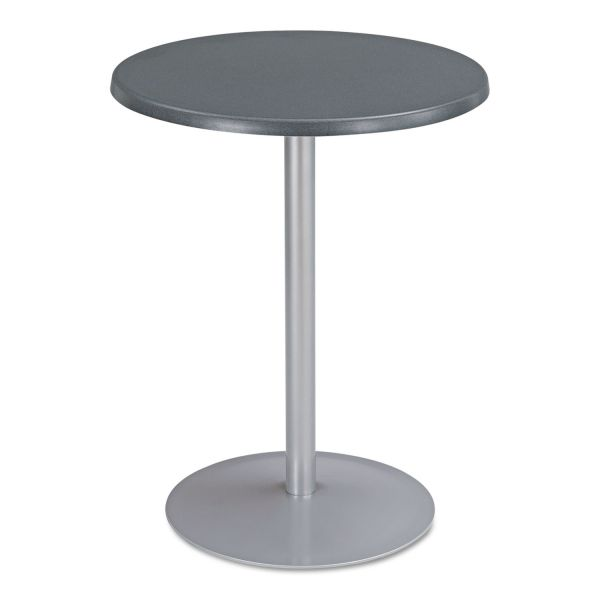 """Safco Entourage Table Top, Round, 24"""" Diameter, Anthracite"""