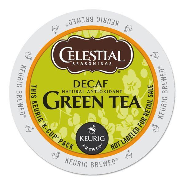 Celestial Seasonings Decaffeinated Green Tea K-Cups