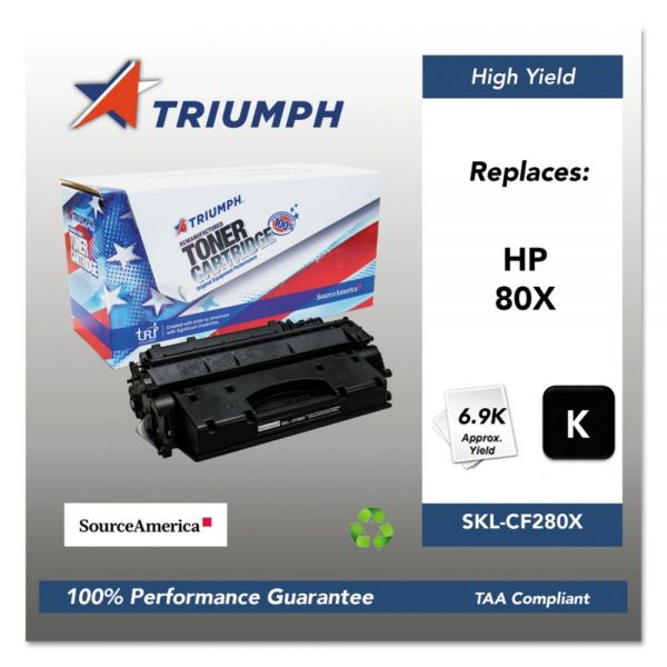 Triumph Remanufactured HP 80X (CF280X) Toner Cartridge