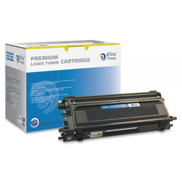 Elite Image Remanufactured Brother TN110BK Toner Cartridge