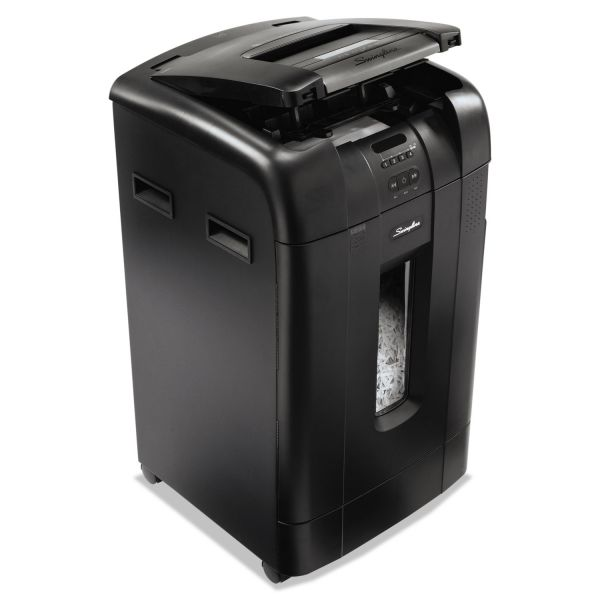 Swingline Stack-and-Shred 750X Hands-Free Cross-Cut Shredder