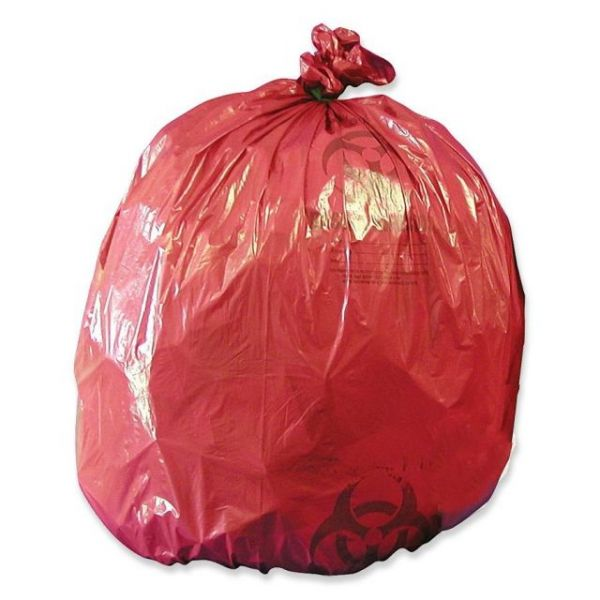Medegen MHMS Red Biohazard Infectious Waste Liners