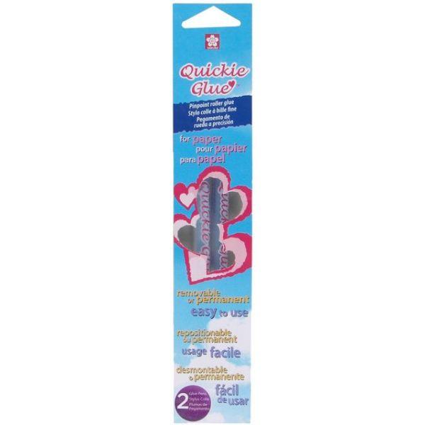 Quickie Glue Roller Pens 2/Pkg