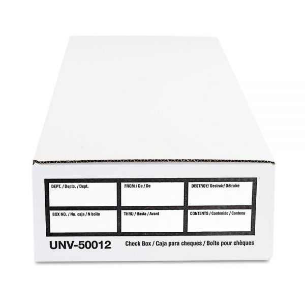 Universal Economy Check Storage Boxes