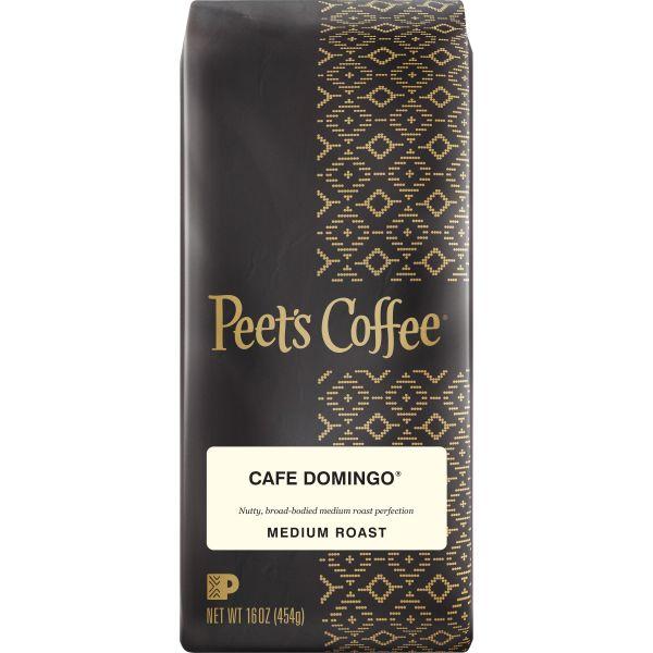 Peet's Coffee & Tea Cafe Domingo Coffee, Ground, 16 oz