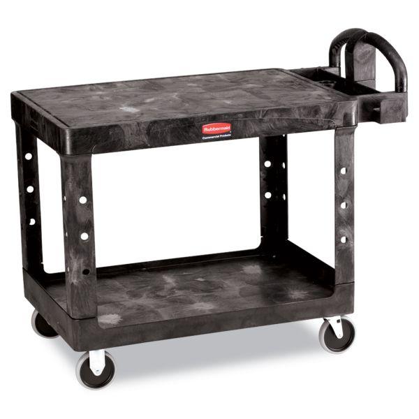 Rubbermaid Commercial Flat Shelf Utility Cart