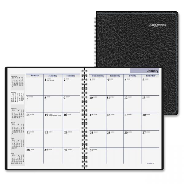 At-A-Glance DayMinder Recycled Monthly Planner