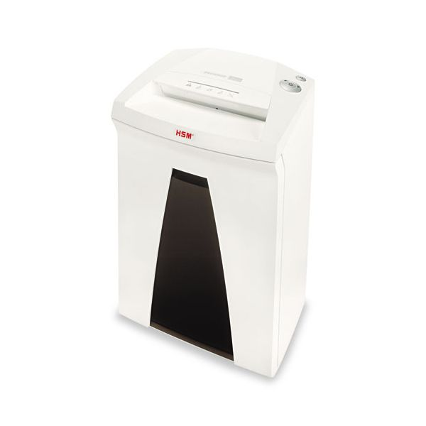 HSM of America SECURIO B24S Strip Cut Office Shredder, White/Black