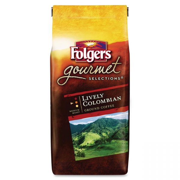 Folgers Gourmet Ground Coffee (5/8 lb)