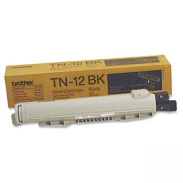 Brother TN-12BK Black Toner Cartridge