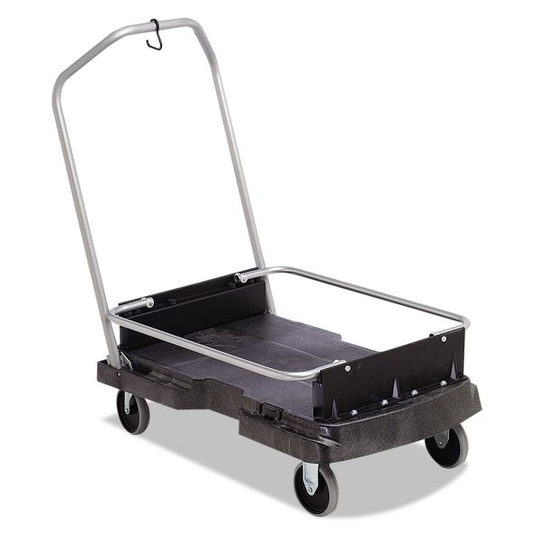 Rubbermaid Commercial Ice-Only Cart, 500-lb Cap, 21 2/5w x 39 1/10d x 15h, Black