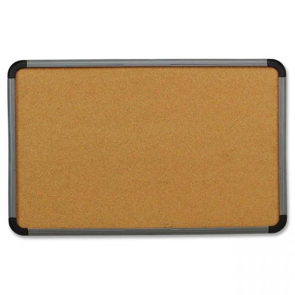 Iceberg Contemporary Lightweight Cork Bulletin Board