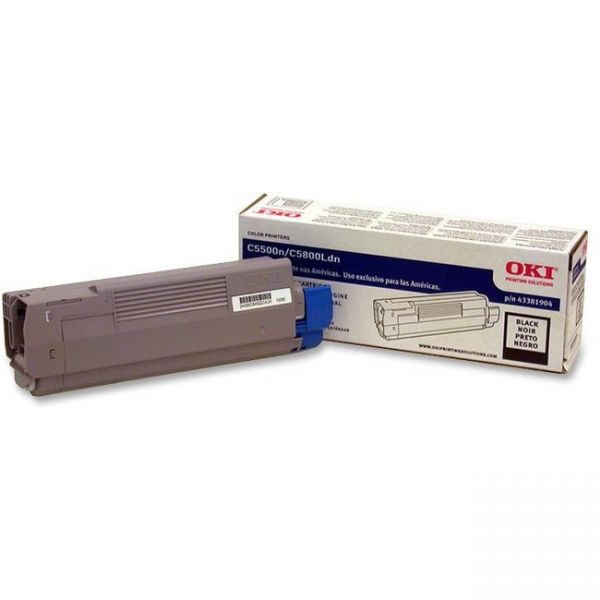 Oki 43381904 Black Toner Cartridge