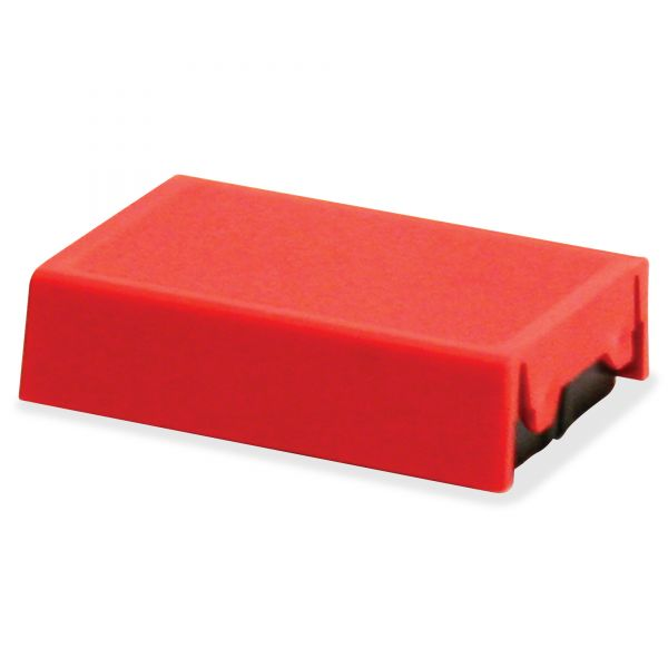 Identity Group Trodat T4850 Dater Replacement Pad, 3/16 x 1, Red