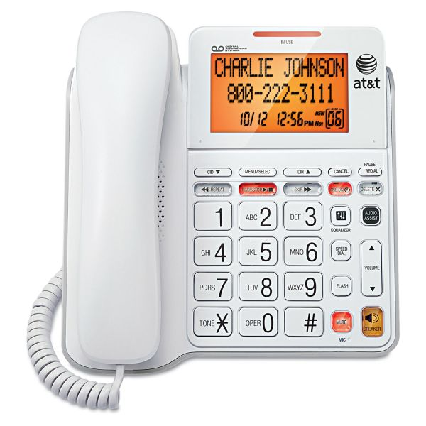 AT&T CL4940 Corded Speakerphone