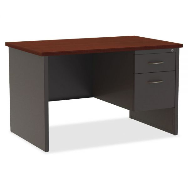 Lorell Modular Right Pedestal Computer Desk