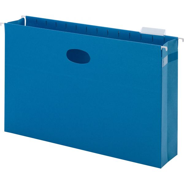 Smead 64370 Sky Blue Colored Hanging Pockets with Tab