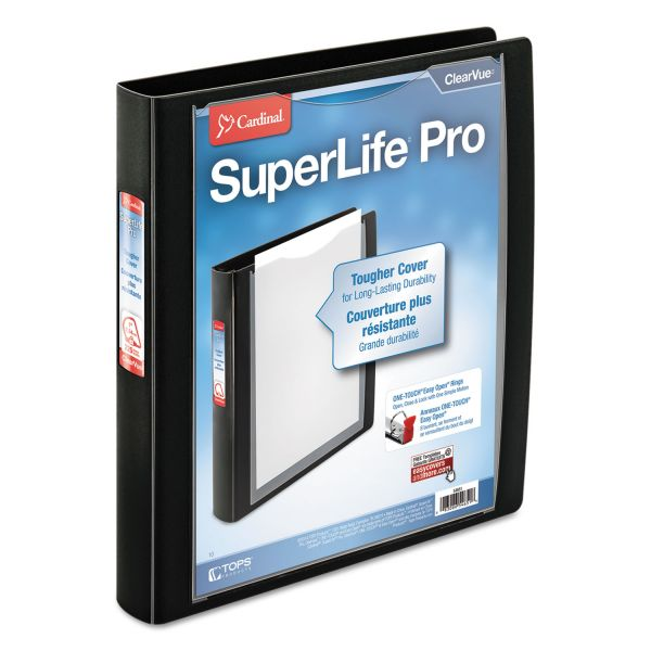 "Cardinal SuperLife Pro 1"" 3-Ring View Binder"